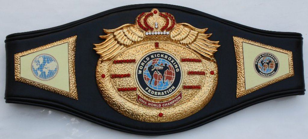 WKF MMA World champion belt