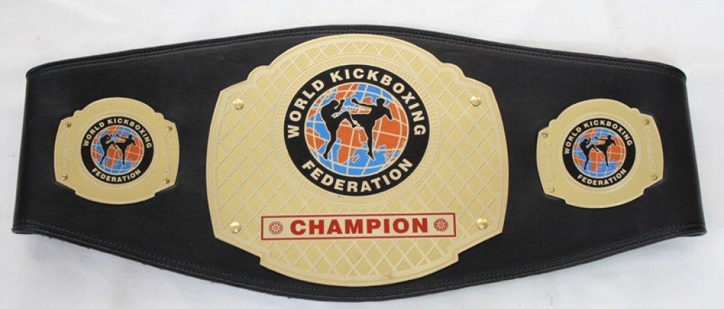 WKF national champion belt