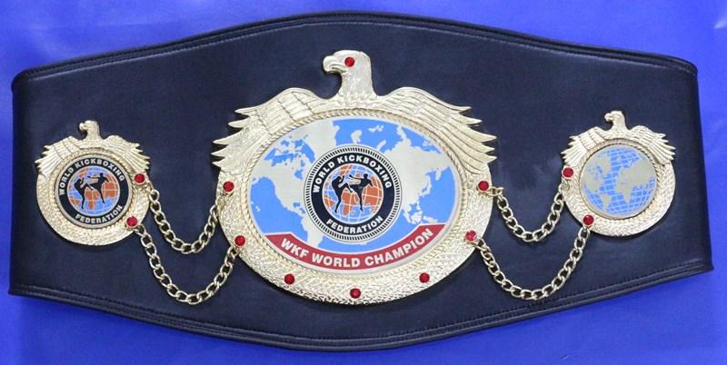 WKF World champion belt