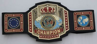 WKF European Union Champion belt_