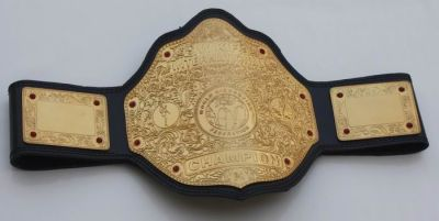 WKF International Champion belt_
