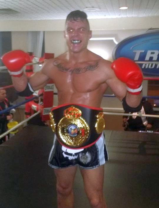 Alex Rozicki (Caged Dragon) - WKF 155lb Ontario Muay Thai Title