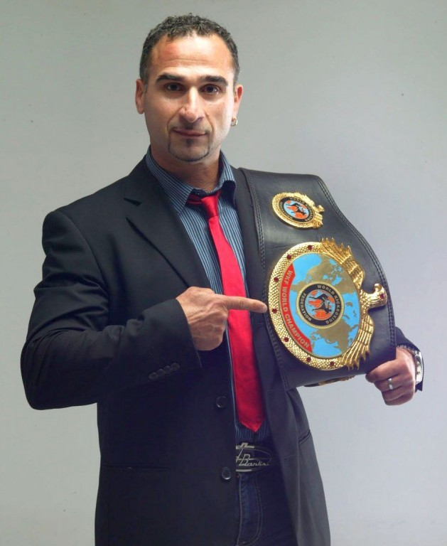 PERGIALIS-Georges_GRE_World-title-belt