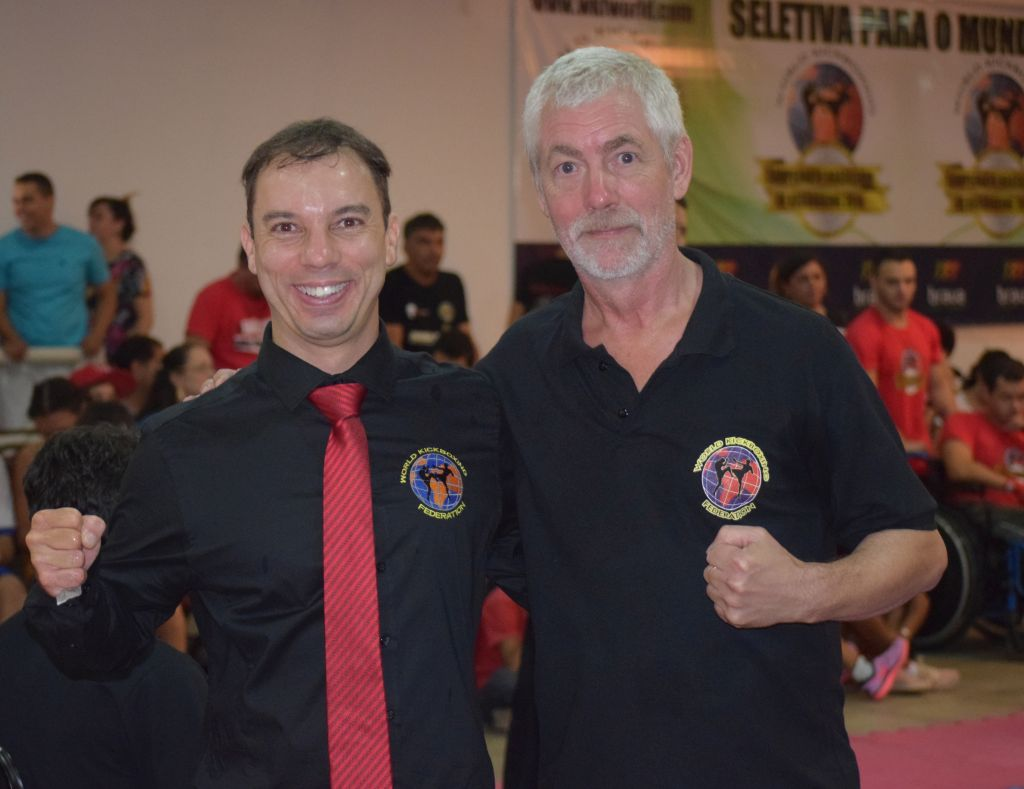 WKF BRASIL dynamic duo Stivi e Hans